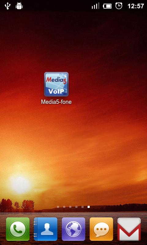 Запустіть Media5-fone